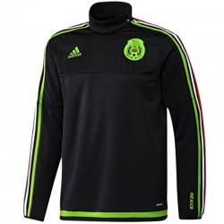 Sudadera tecnica entreno seleccion Mexico 2016 - Adidas