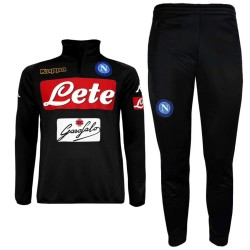 SSC Napoli Player tech Trainingsanzug 2016/17 schwarz - Kappa