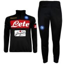 SSC Napoli black technical training tracksuit 2016/17 - Kappa