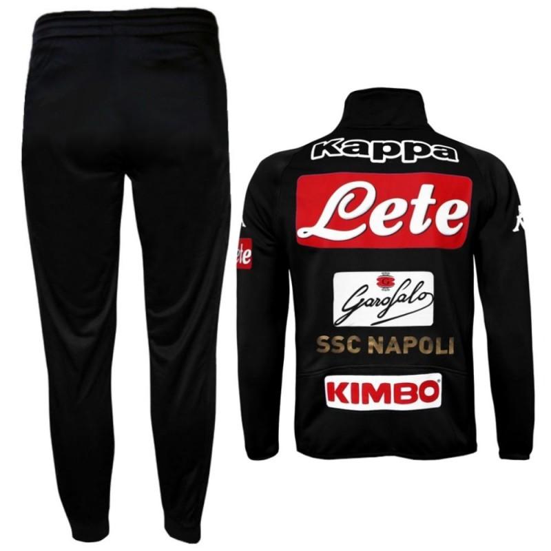 Kappa Presentation Suit Napoli Black 16//17 Naples