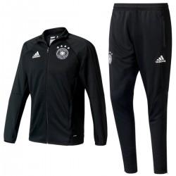 Germany football black training tracksuit 2017 - Adidas
