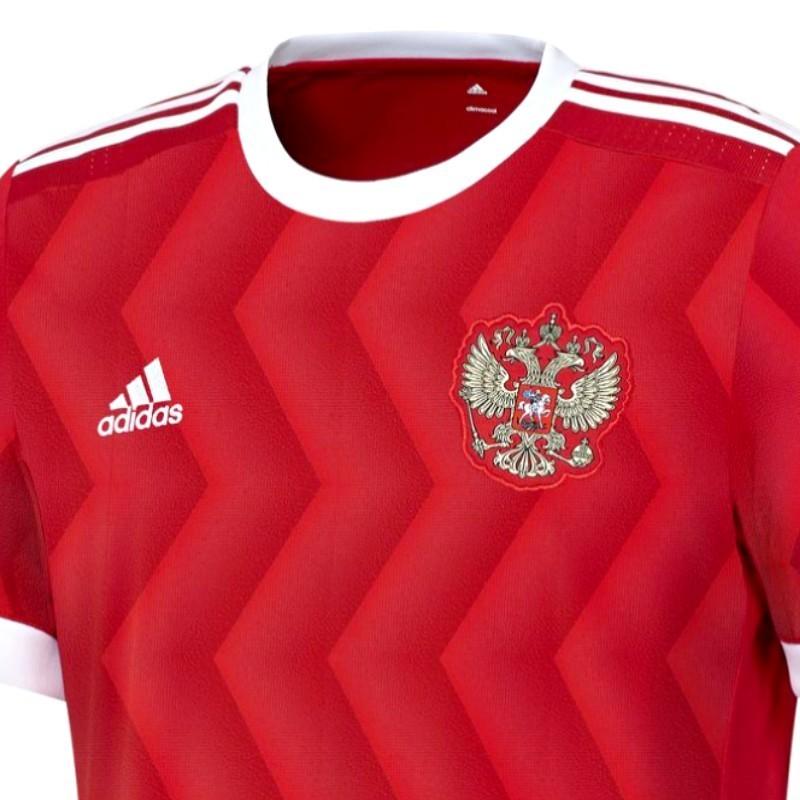Adidas Home Calcio 2017 Maglia Nazionale Russia 0qUCw4xPW
