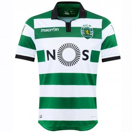 Sporting Lisbon football shirt Home 2016/17 - Macron