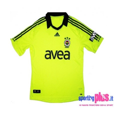 Fenerbahce's Third Jersey 08/09 by Adidas