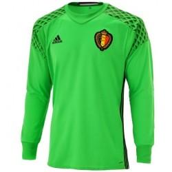 Belgien Fußball torwart heimtrikot 2016/17 - Adidas