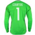 Belgium Home goalkeeper shirt 2016/17 Courtois 1 - Adidas