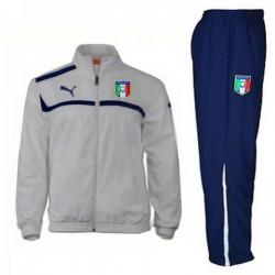 Italy national team Presentation tracksuit 2012/14 grey - Puma