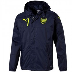 Arsenal UCL training rain jacket 2016/17 navy/fluo - Puma