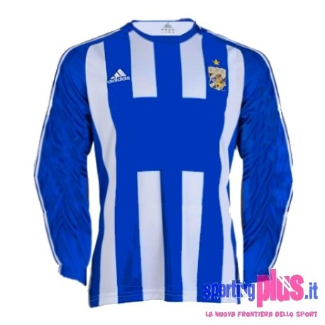 Maglia IFK Goteborg Home 08/09 Player Issue da gara - Adidas