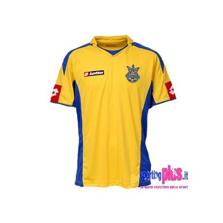 Camiseta de Ucrania nacional local 08/10 por Lotto