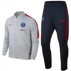 Tuta da rappresentanza grigia Paris Saint Germain 2017 - Nike