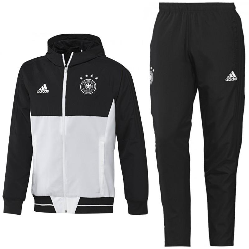 veste de presentation allemagne euro 2016 blanc adidas