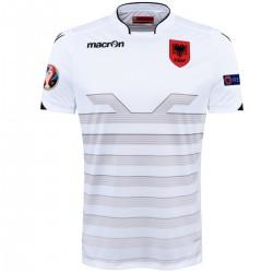 Maillot de foot Albanie match Away Euro 2016 - Macron