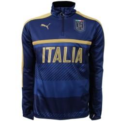 Tribute 2006 tech sweat top entrainement Italie 2016/17 bleu - Puma