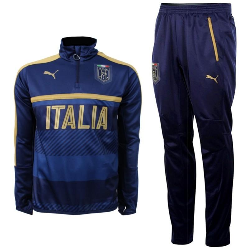 separation shoes c98c5 c0f63 Tribute 2006 tuta tecnica allenamento Italia 2016/17 blu ...