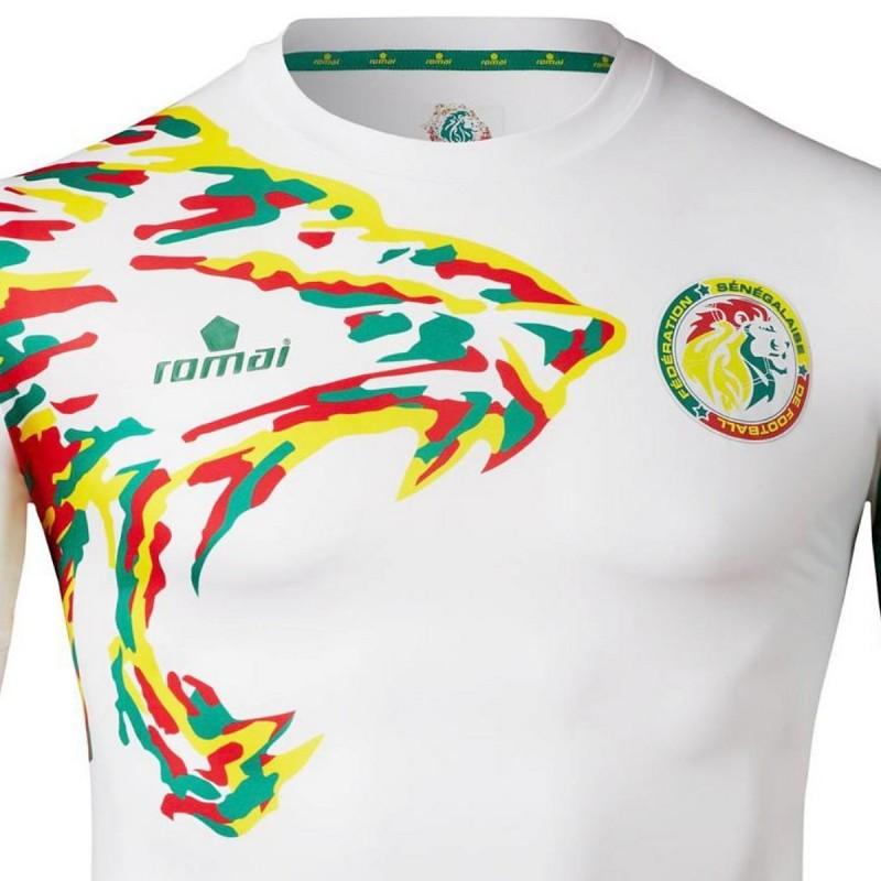 582dbb22210 Senegal national team Home football shirt 2017/18 - Romai ...