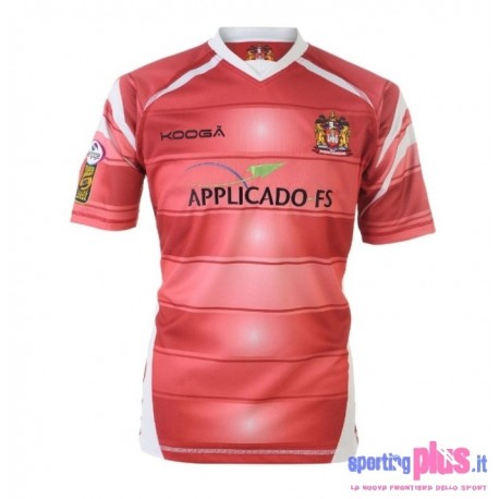 Wigan Warriors Rugby jersey 2010/11 Home by manufacturer KooGa