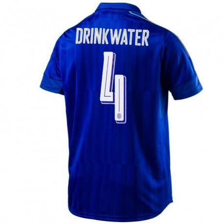 Leicester City FC Home football shirt 2016/17 Drinkwater 4 - Puma