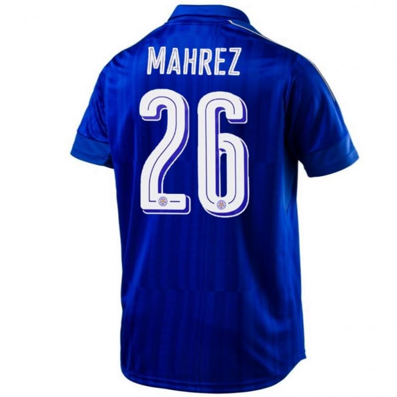 Maglia calcio Leicester City FC Home 2016/17 Mahrez 26 ...