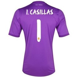 Real Madrid CF goalkeeper home shirt 2013/14 Iker Casillas 1 - Adidas