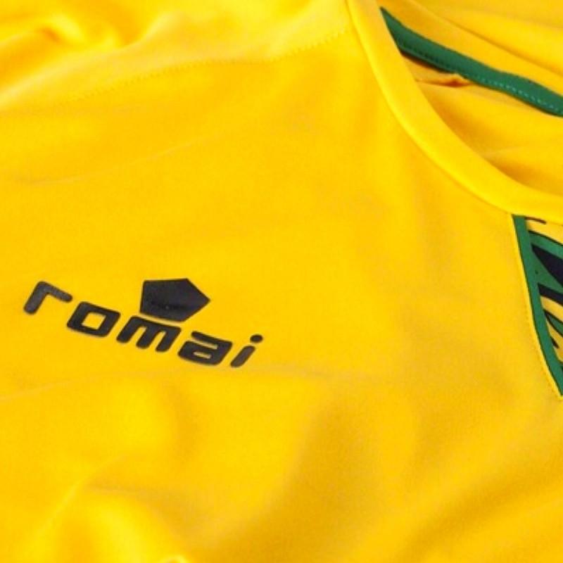 5c1e15b79ef Jamaica national team Home football shirt 2016 17 - Romai ...