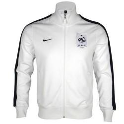 Representación nacional N98 chaqueta Nike Francia-blanco/azul