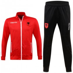 Albania football team presentation tracksuit 2017/18 - Macron