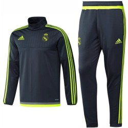 Real Madrid tech trainingsanzug 2015/16 grau - Adidas