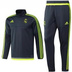 Tuta tecnica da allenamento Real Madrid 2015/16 grigio - Adidas