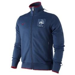 France National Representation N98 Jacket 11/12 Nike-blue