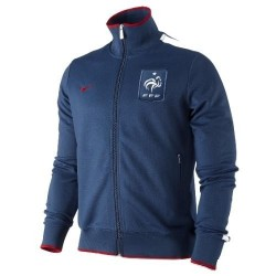 Giacca Rappresentanza N98 Nazionale Francia 11/12 Nike - Blu