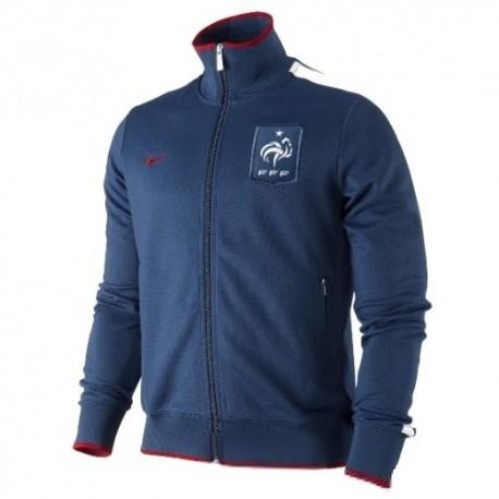 Frankreich nationale Vertretung N98 Jacke 11/12 Nike-blau