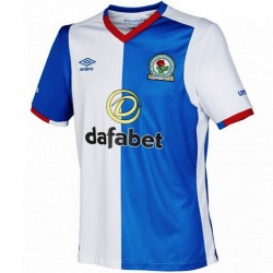 Blackburn Rovers Fußball Trikot Home 2016/17 - Umbro
