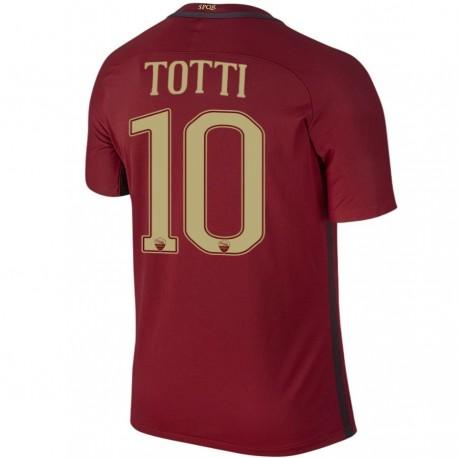 Totti 10 AS Roma camiseta futbol Derby 2016/17 - Nike