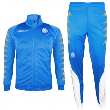 SSC Napoli Champions League presentation suit 2016/17 - Kappa