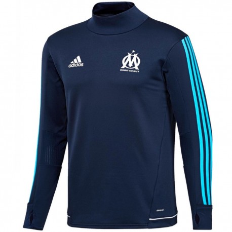 Olympique Marseille technical training top 2017/18 navy - Adidas