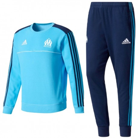 Olympique Marseille training sweat tracksuit 2017/18 - Adidas