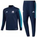 Tuta tecnica da allenamento Olympique Marsiglia 2017/18 navy - Adidas