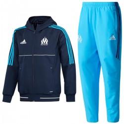 Tuta da rappresentanza Olympique Marsiglia 2017/18 - Adidas