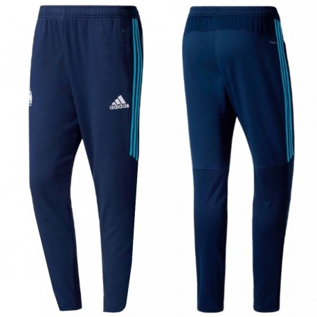 Olympique Marseille technical training pants 2017/18 navy - Adidas