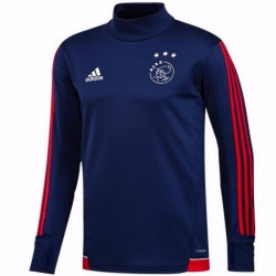 Sweat tech d'entrainement Ajax Amsterdam 2017/18 navy - Adidas