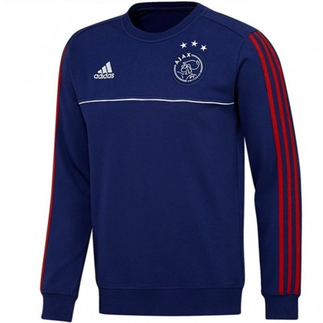 Ajax Amsterdam training sweat top 2017/18 navy - Adidas