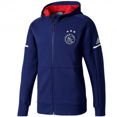 Ajax Amsterdam presentation anthem jacket 2017/18 navy - Adidas