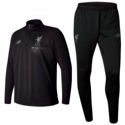 Survetement Tech d'entrainement FC Liverpool 2017/18 noir - New Balance