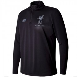 Tech sweat top d'entrainement FC Liverpool 2017/18 noir - New Balance