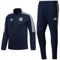Survetement d'entrainement Bayern Munich 2017/18 bleu - Adidas