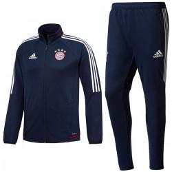 Tuta da allenamento blu Bayern Monaco 2017/18 - Adidas