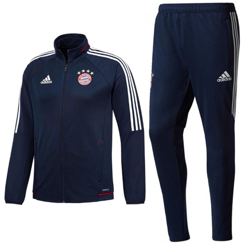 Bayern de 201718 Chandal Adidas entreno Munich azul qSUzGMVp