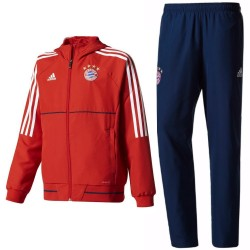 Bayern Munich training presentation tracksuit 2017/18 - Adidas