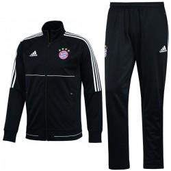 Survetement d'entrainement Bayern Munich 2017/18 noir - Adidas